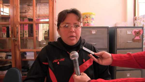 Jacqueline Naranjo, responsable de la Defensoria Carapari. (Foto: el Chaqueño)