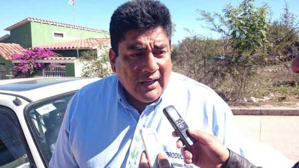 Manuel Gareca responsable del Fondo Rotatorio en Caraparí. (Foto: El Chaqueño)