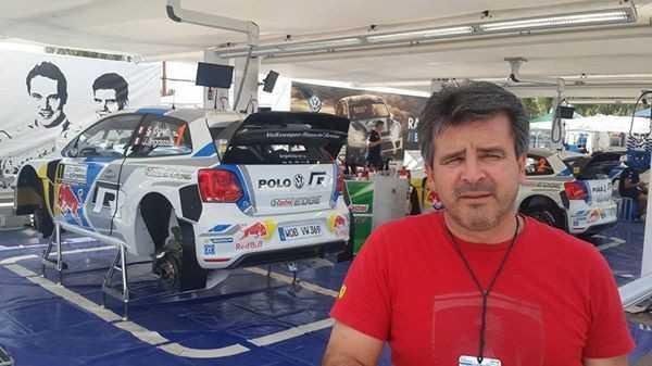 El piloto espera desarrollar una buena carrera y conquistar el primer lugar del rally. (Foto: El Chaqueño)