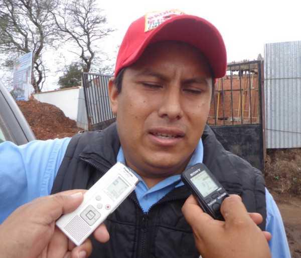 Gilberto Condori, presidente del Concejo de Salud. (Foto: El Chaqueño)