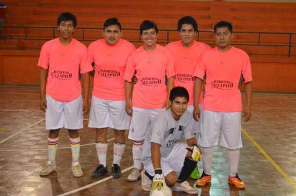 Elenco de Haoyin, cayó en el inicio del torneo de futsal. (Foto: El Chaqueño)