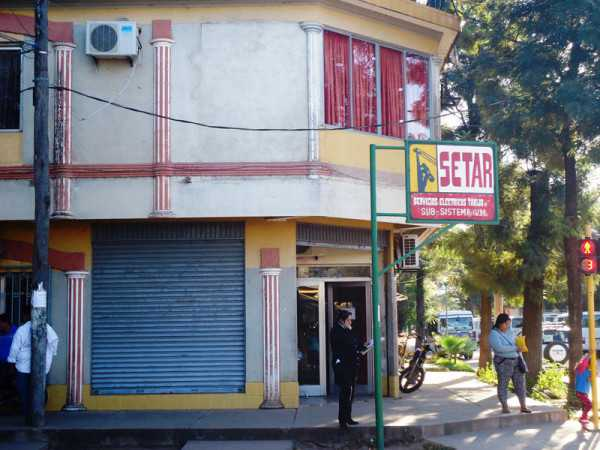 SETAR Villa Montes, atiende acutalmente en una casa improvisada para oficinas. (Foto: El Chaqueño)