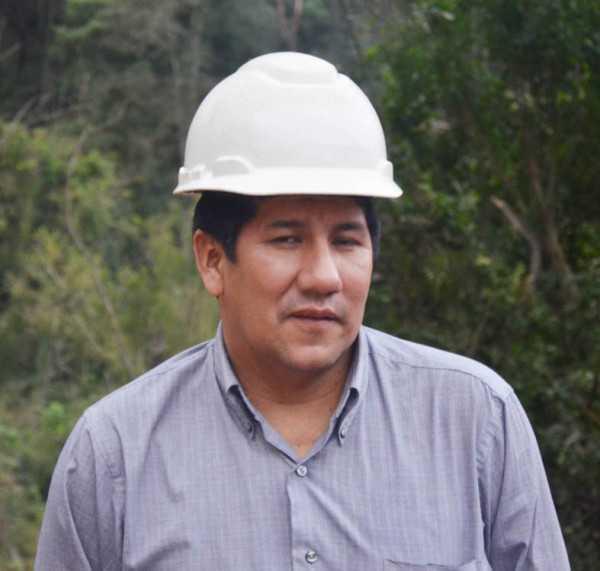 Rony Vargas, Dirección de Gestión de Medio Ambiente - Digema. (Foto: El Chaqueño)
