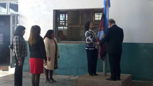 Aniversario de la escuela Frontera. (Foto: El Tribuno)