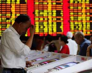 Continúa la caida de las bolas de valores en China. (Foto: AFP)