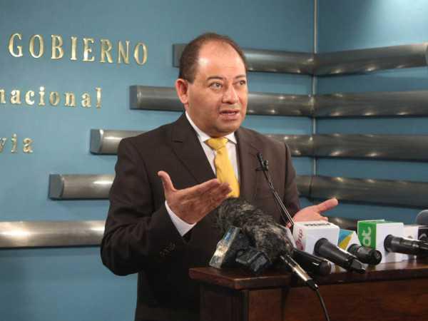 Carlos Romero, ministro de gobierno. (Foto: ministerio de gobierno)