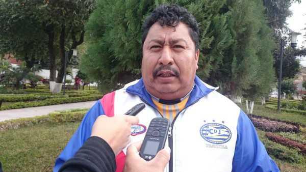 3.- Bonifacio Paucari, dirigente del distrito uno. (Foto: El Chaqueño)