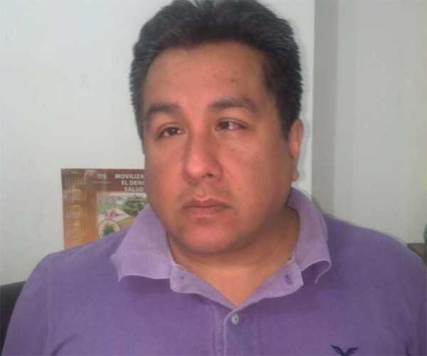 Daniel Medina Secretario Administrativo de la Red de Salud. (Foto: El Chaqueño)