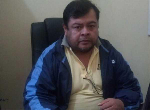 Dante Rodríguez, presidente del Consejo Social Municipal de Salud de Yacuiba. (Foto: El Chaqueño)