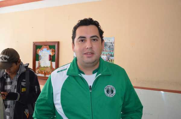 Fernando Vargas, secretario de hacienda del Club Petrolero. (Foto: El Chaqueño)