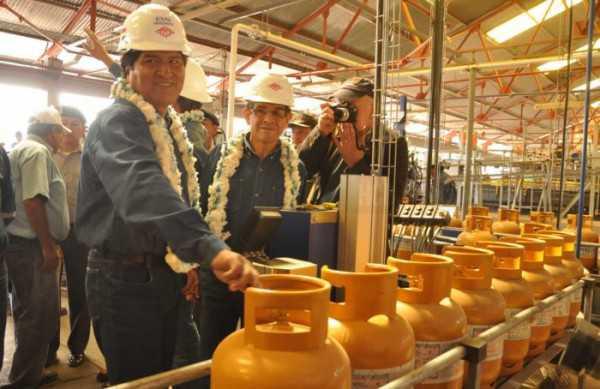 La Planta del Gran Chaco dispone de 1.200 toneladas. (Foto: Hidrocarburosbolivia.com)