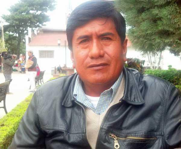 Hilarión Paredes representante de los enfermos renales de Yacuiba. (Foto: El Chaqueño)