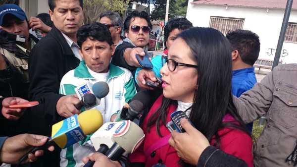 Nataly Herrera, periodista de Yacuiba. (Foto: El Chaqueño)