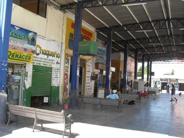 Terminal de Buses de Yacuiba. (Foto: suriweb)