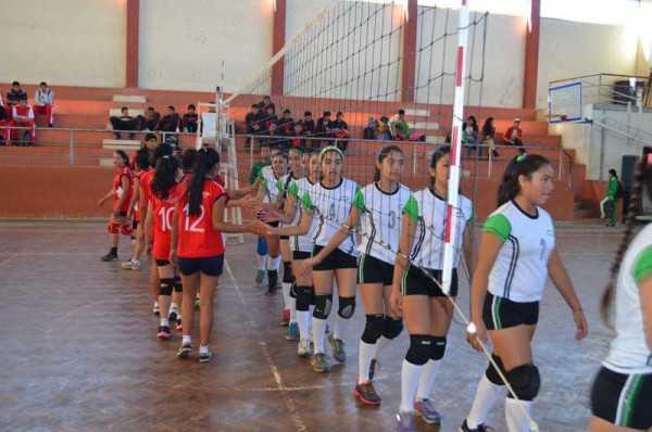 Campeonato juvenil de voleibol en Yacuiba. (Foto: El Chaqueño)