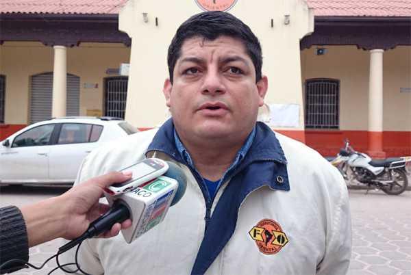 Edgar Callaú, jefe de la estación ferroviaria Oriental. (Foto: El Chaqueño)