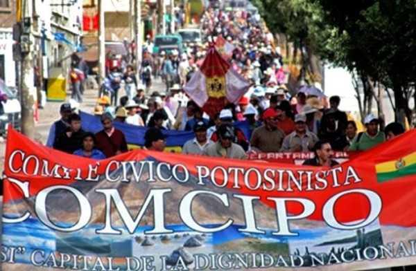 Comcipo ratifica la solicitud de diálogo con el presidente Evo Morales en La Paz. (Foto: tierraplus)