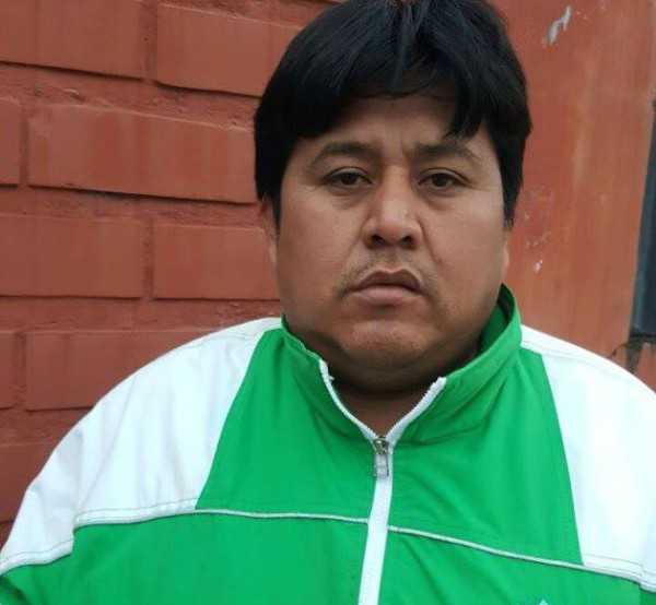 El dirigente Miguel Colque, renunció a su cargo y al Club. (Foto: El Chaqueño)