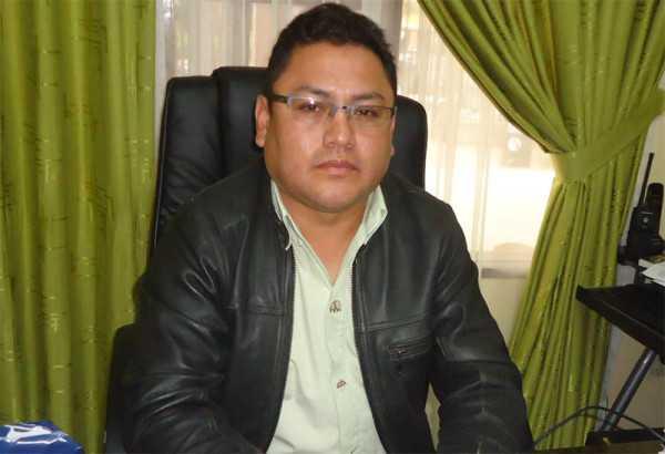 Dr. Edgar Rivera, responsable de Seguridad Ciudadana de Villa Montes. (Foto: El Chaqueño)