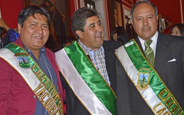 Los ejecutivos seccionales del Chaco. (Foto de archivo)