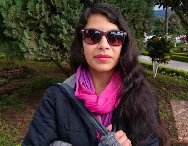 Elisangela Escobar, socióloga del proyecto cambio climático, vulnerabilidad y salud en Bolivia. (Foto: El Chaqueño)