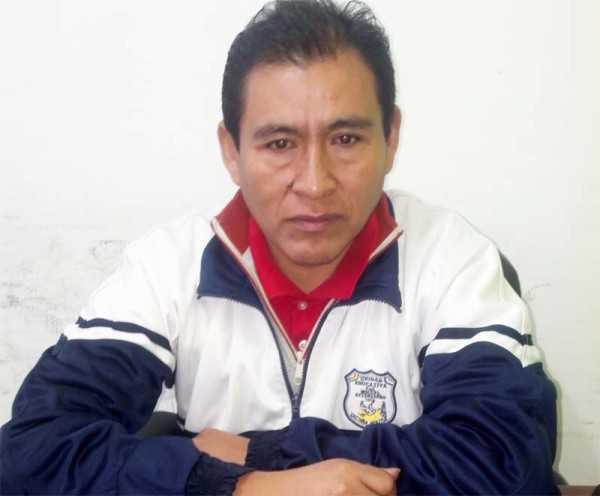 Julián Huanacota responsable de Profomet Yacuiba. (Foto: El Chaqueño)