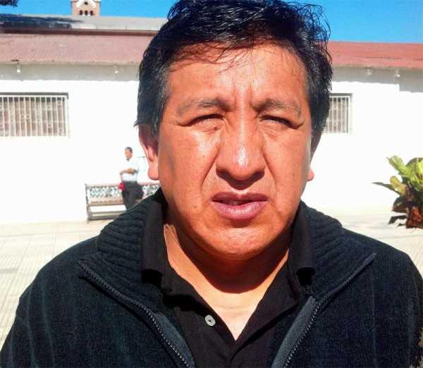 Juan Carlos García Pdte. de la Junta de Padres del colegio Héroes del Chaco. (Foto: El Chaqueño)