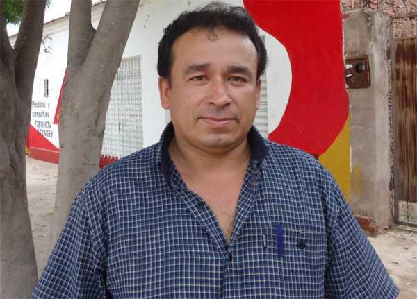 Juan García, Asambleista Regional por Villa Montes.. (Foto: El Chaqueño)