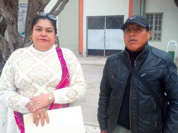 Directivos del barrio Fray Quebracho. (Foto: El Chaqueño)