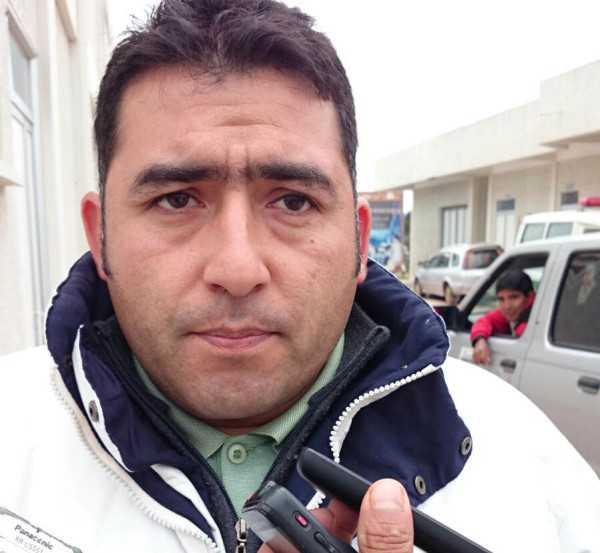 Jimmy Pizarro, responsable de la Red de Salud Caraparí. (Foto: El Chaqueño)