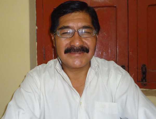Lic. Raúl Molina, director de educación alternativa. (Foto: El Chaqueño)