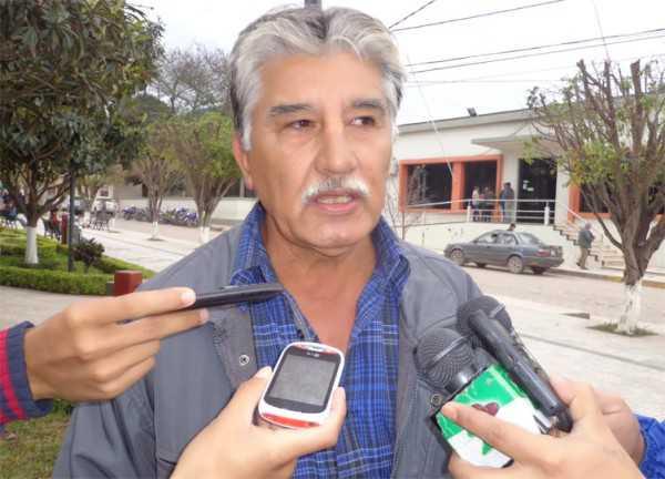 Erlan Reyes, dirigente de la comunidad de la Encrucijada. (Foto: El Chaqueño)