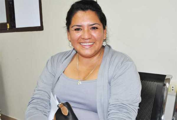 Mirian Liliana Sánchez, nueva Subalcaldesa del Distrito Uno. (Foto: El Chaqueño)