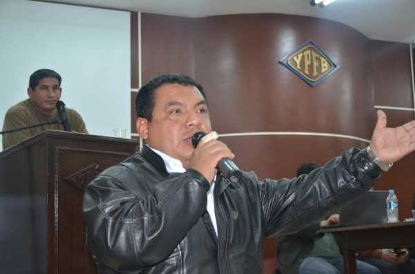 El exdirigente cívico Felipe Moza, participó de la reunión. (Foto: El Chaqueño)