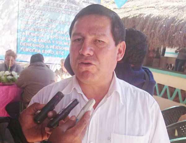 Alcalde Ramiro Vallejos inaugurócomedor para las personas de la tercera edad. (Foto: El Chaqueño)
