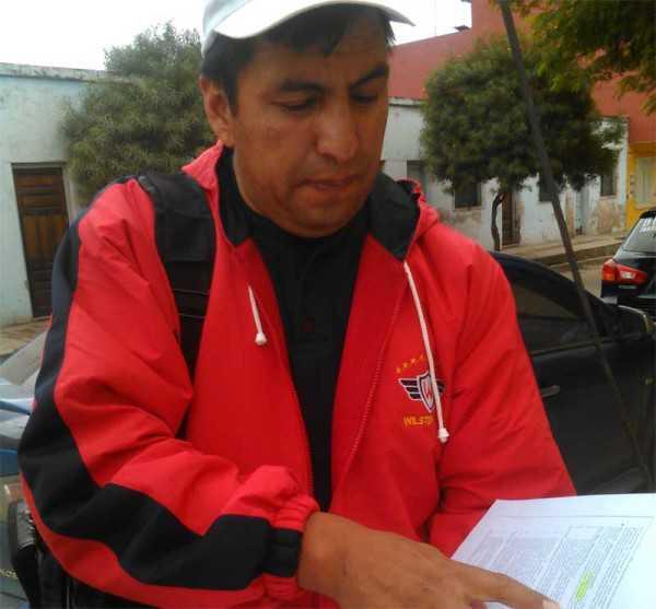Profesor Zenón Claros, presidente de atletismo. (Foto: El Chaqueño)
