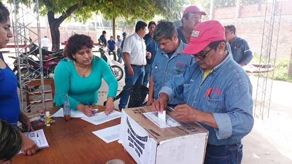 Elecciones del sindicato de trabajadores de SETAR. (Foto: El Chaqueño)
