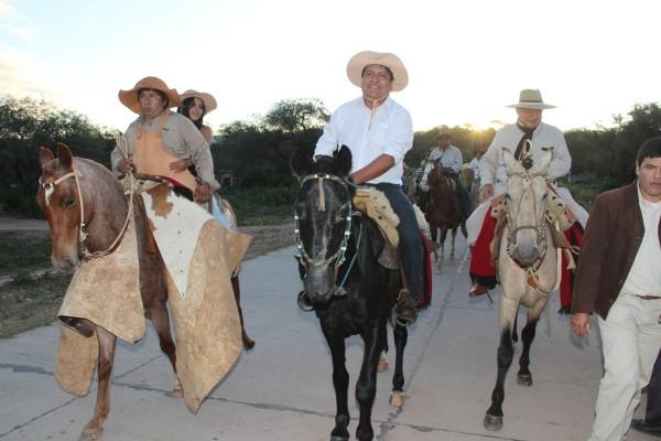 La cabalgata hacia el Rodeo de la Tradición Chaqueña será el 28 de agosto. (Foto: Agencias)