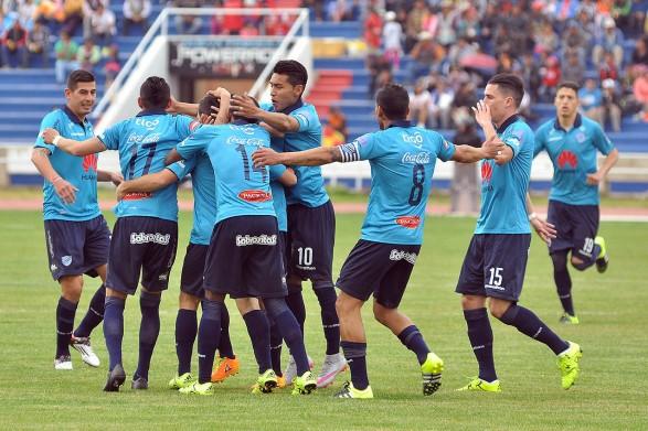 Bolívar fue hasta sucre y derrotó a Universitario. (Foto: APG)