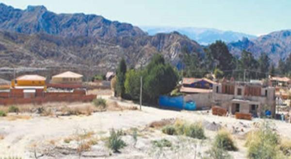 Comunidad de mallasilla en el departamento de La Paz. (Foto: Erbol)