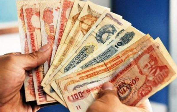 El BCB no ve conveniente devaluar la moneda boliviana. (Foto internet)