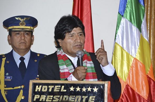 El Presidente Morales recomendó mejorar la ejecución presupuestaria. (Foto: ABI)