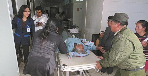 El accidente vial se registró en la zona de Ormituyu, ruta a Aiquile. (Foto: El Dber)