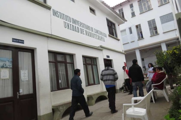 El instituto Cupertino ArteagaColapsó. (Foto: Correo del Sur)