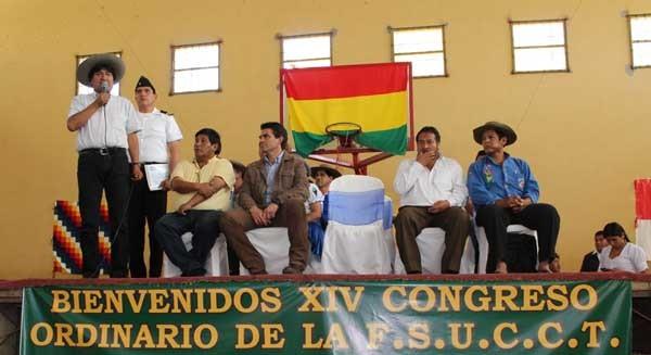 XIV Congreso Ordinario de la Federación de Comunidades Campesinas de Tarija. (Foto: ABI)