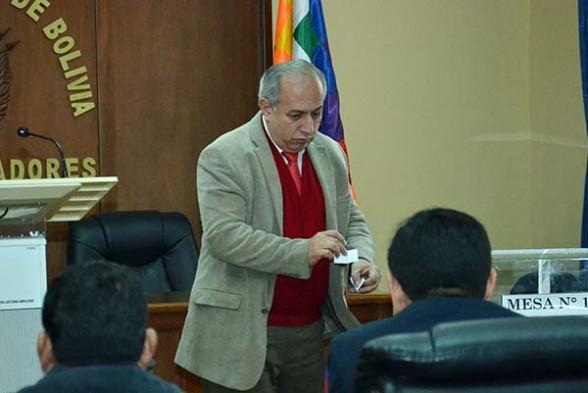 El vocal a cargo del área informática, Antonio Costas. (Foto archivo - ABI)