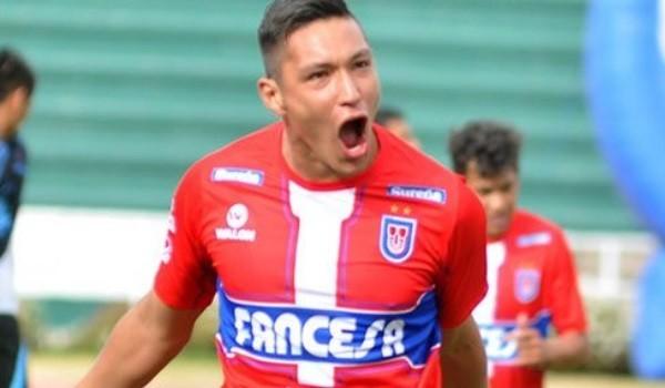 Juan Eduardo Fierro anotó dos goles para la victoria de su equipo. (Foto: lete.com.bo)