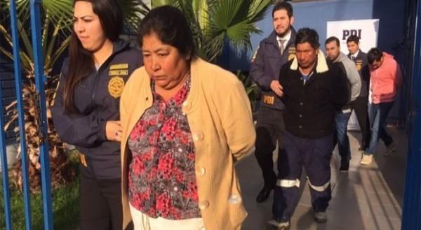 Al momento de la detención llevaban 40 kg de droga. (Foto: soychile.cl)