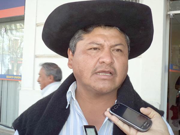 Luis Alfaro, Secretario de Gobernabilidad de la Gobernación de Tarija. (Foto: Nuevo Sur)