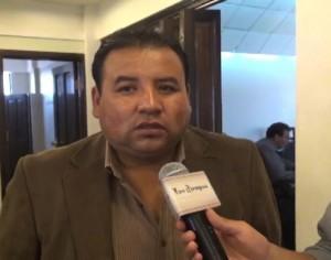 Marco Ortega, nuevo presidente de la Liga del Fútbol Boliviano. (Foto: Los Tiempos)